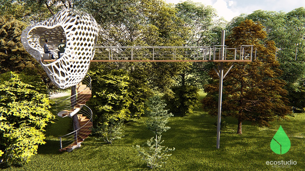 Treehouse render 1