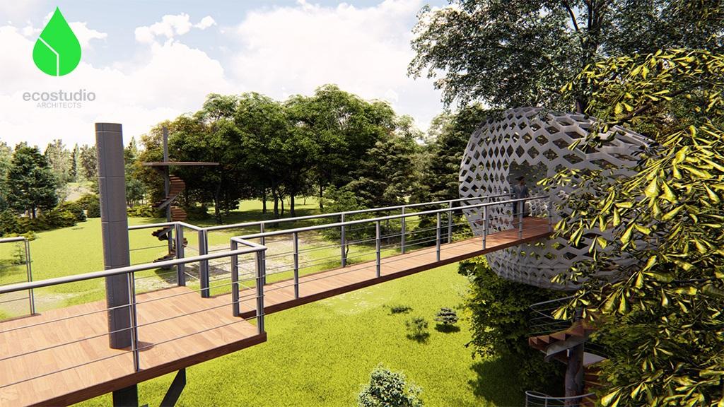 Treehouse render 3