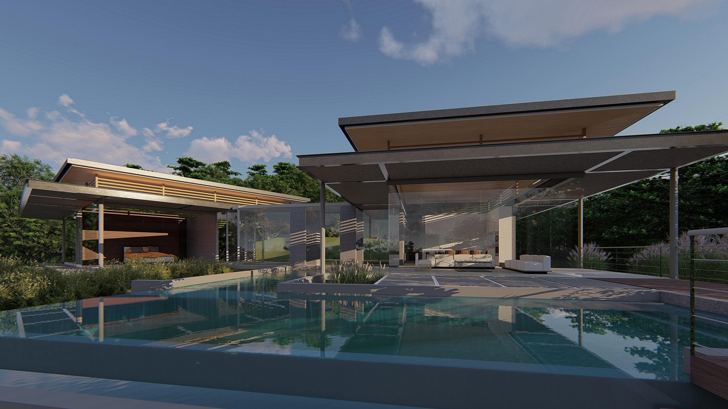 Blue Sound residence